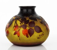 Emile Galle - Cameo Glass Vase