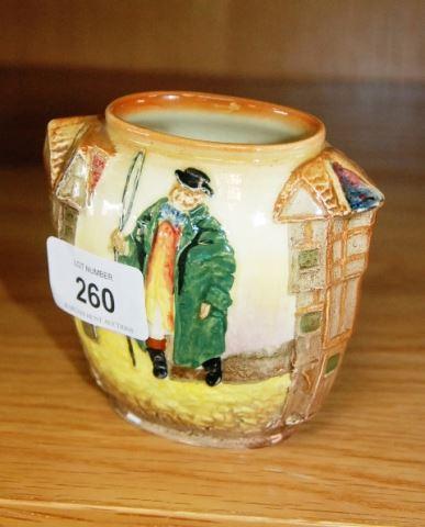 Small Royal Doulton Vase Tony Weller Pattern D5864 Bargain Hunt