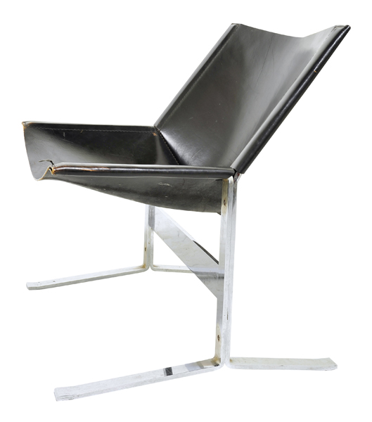 Designer Sling Chairs: Clement Meadmore 1929-2005: Australian/USA Designer And