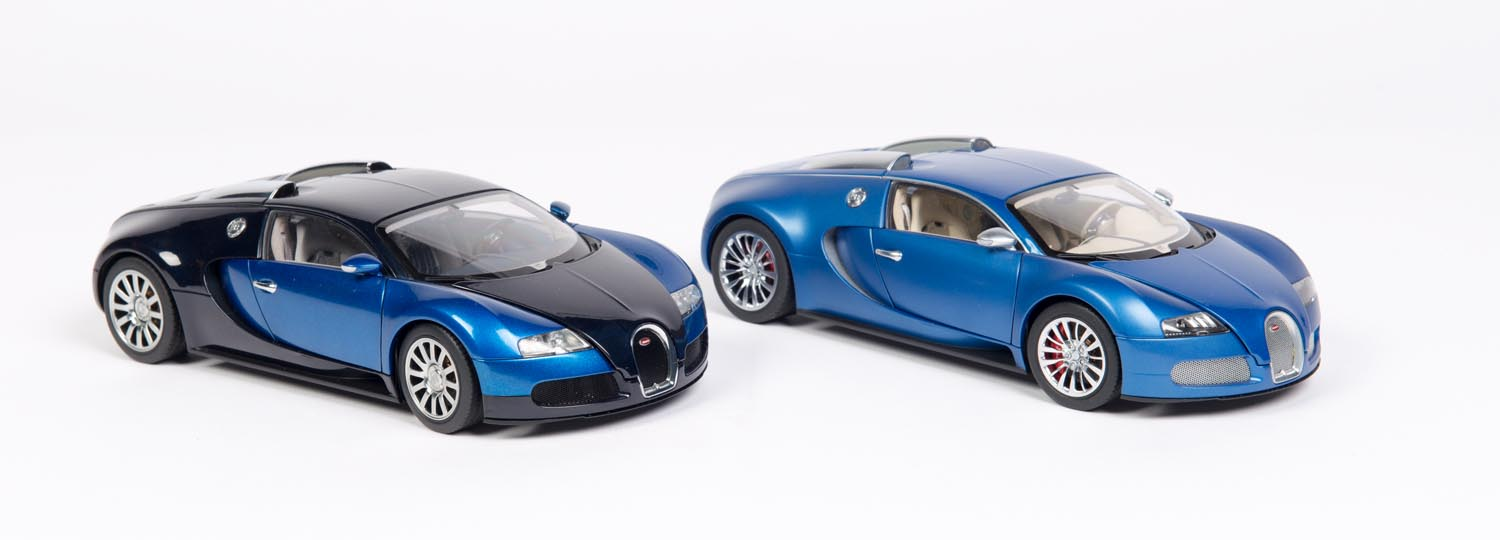 bugatti veyron four 1 18 scale models of the bugatti veyron mossgreen fi. Black Bedroom Furniture Sets. Home Design Ideas