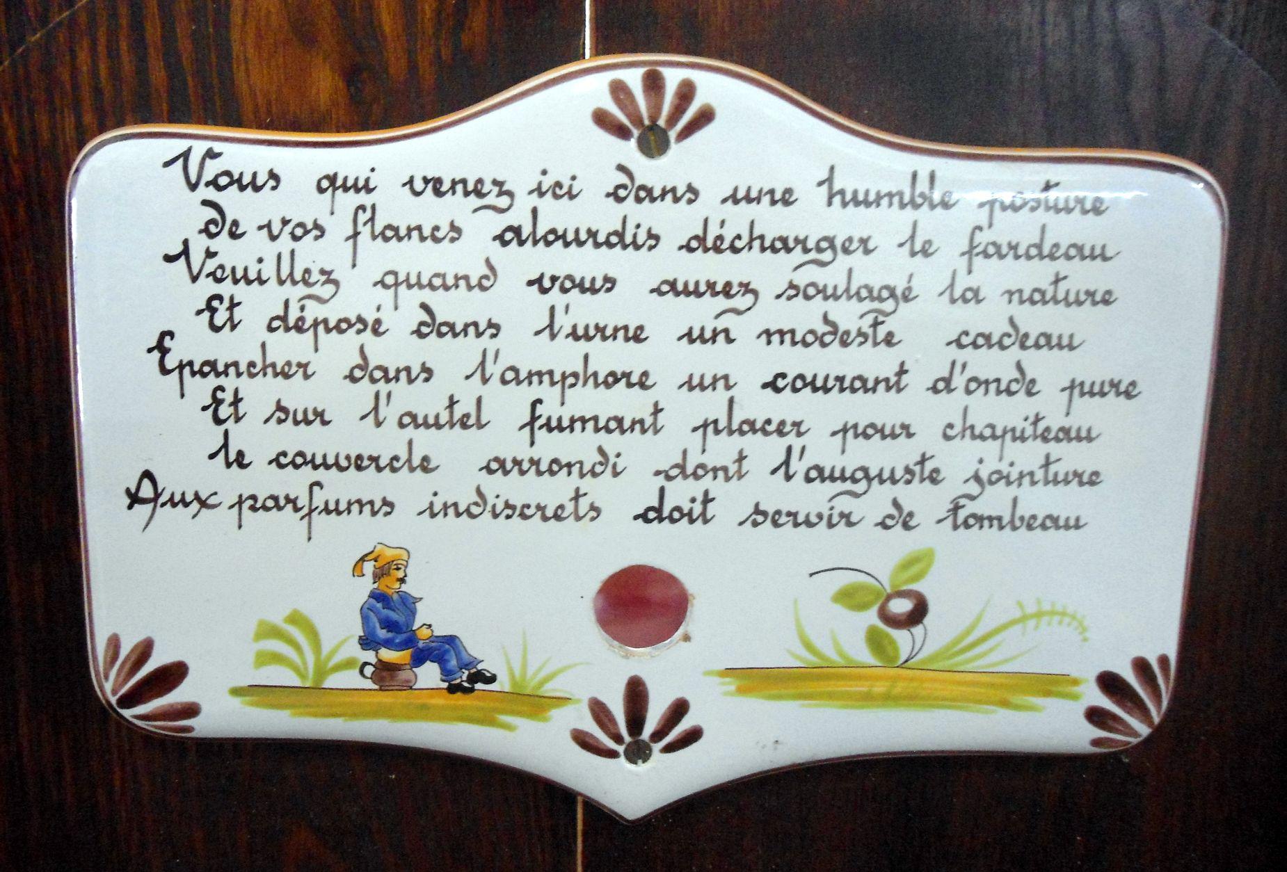 A Maurice Herbeau Lille France Dagobert Throne Toilet